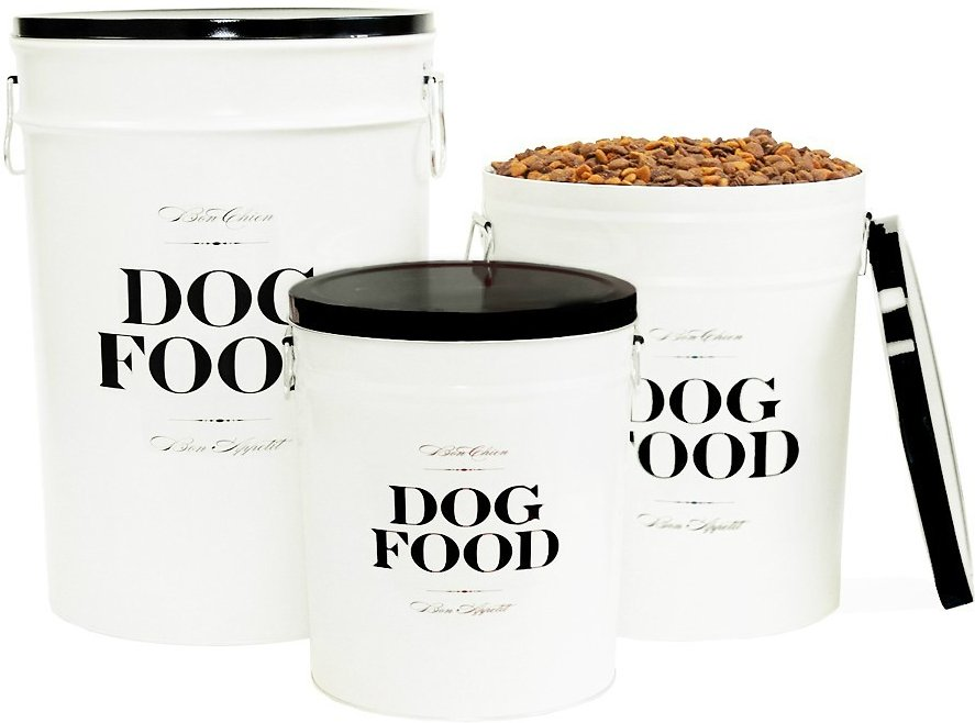 Harry Barker Quot Bon Chien Quot Dog Food Storage Canister Large