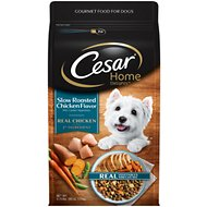 Cesar Home Delights Slow Roasted Chicken Flavor with Garden Vegetables Small Breed Dry Dog Food, 3.75-lb bag