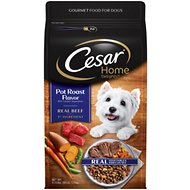 Cesar Home Delights Pot Roast Flavor with Garden Vegetables Small Breed Dry Dog Food, 3.75-lb bag
