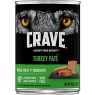 Crave Turkey Pate Grain-Free Canned Dog Food, 12.5-oz, case of 12