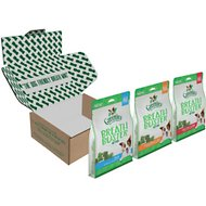 Greenies Breath Buster Bites Variety Pack Grain-Free Dental Dog Treats, 11-oz, case of 3