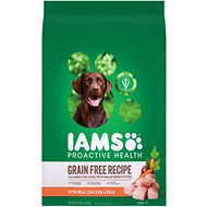 Iams ProActive Health Sensitive Skin & Stomach with Real Chicken & Peas Grain-Free Dry Dog Food, 10.3-lb bag
