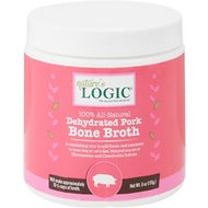 Nature's Logic Dehydrated Pork Bone Broth for Dogs & Cats, 6-oz tub