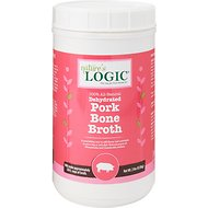 Nature's Logic Dehydrated Pork Bone Broth for Dogs & Cats, 2-lb tub