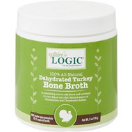 Nature's Logic Dehydrated Turkey Bone Broth Dog & Cat Supplement, 6-oz tub