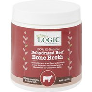 Nature's Logic Dehydrated Beef Bone Broth for Dogs & Cats, 6-oz tub