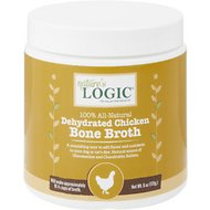 Nature's Logic Dehydrated Chicken Bone Broth for Dogs & Cats, 6-oz tub