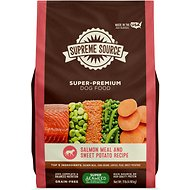 Supreme Source Salmon Meal & Sweet Potato Recipe Grain-Free Dry Dog Food, 11-lb bag