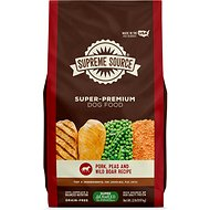 Supreme Source Pork, Peas & Wild Boar Recipe Grain-Free Dry Dog Food, 22-lb bag