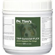 Dr. Tim's TRP-Synovial-FLEX Joint Support Dog Supplement, 120 count