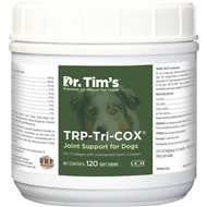 Dr. Tim's TRP-Tri-COX Joint Support Dog Supplement, 120 count