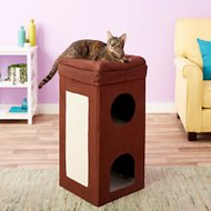 MidWest Curious Cube Condo Cat Bed