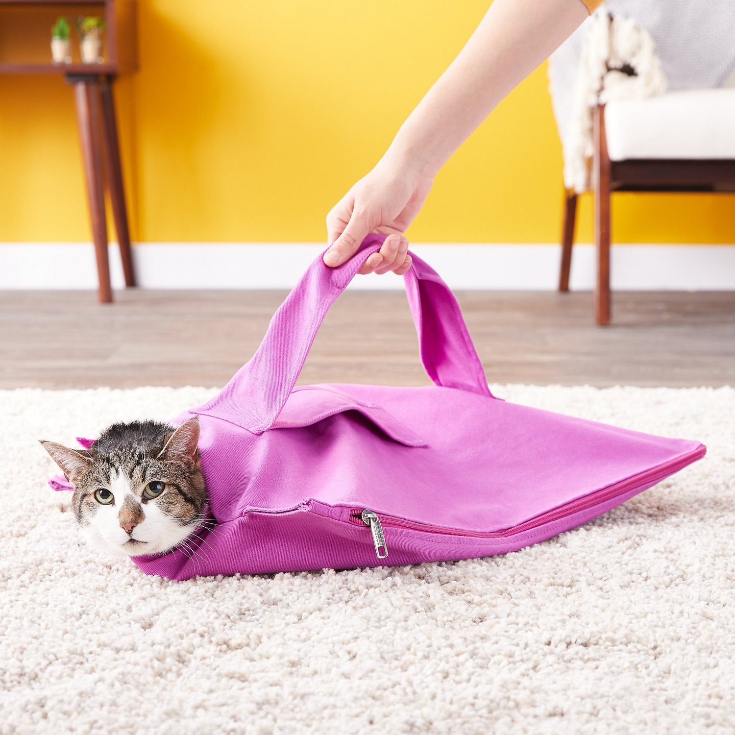 a101104694 Cat-in-the-bag E-Z-Zip Cat Carrier