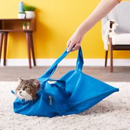 Cat-in-the-bag E-Z-Zip Cat Carrier, Cobalt, Large