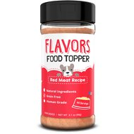 Basics FLAVORS Red Meat Recipe Grain-Free Dog Food Topper & Treat Mix, 3.1-oz bottle