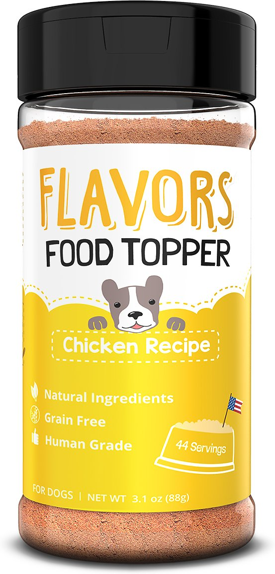Basics Flavors Chicken Recipe Grain Free Dog Food Topper Treat Mix