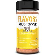 Basics FLAVORS Chicken Recipe Grain-Free Dog Food Topper & Treat Mix, 3.1-oz bottle