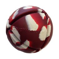GoughNuts Interactive Ball Dog Toy, Red