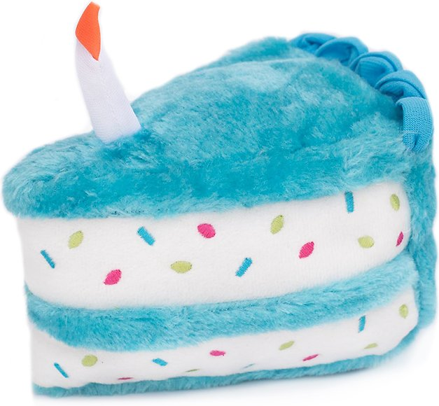 ZippyPaws Birthday Cake Plush Dog Toy