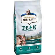 Rachael Ray Nutrish Peak Grain-Free Natural Wetlands Recipe with Chicken, Duck & Pheasant Dry Dog Food, 4-lb bag