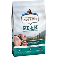 Rachael Ray Nutrish PEAK Grain-Free Natural Wetlands Recipe with Chicken, Duck & Pheasant Dry Dog Food, 23-lb bag