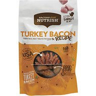 Rachael Ray Nutrish  Grain-Free Turkey Bacon Hickory Smoked Recipe Dog Treats, 3-oz bag