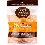 "Earth Animal No-Hide Chicken Chews 4"" Dog Treats, 2 count"