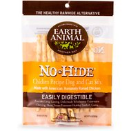 Earth Animal No-Hide Chicken Stix Dog Treats, 10 count