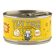 Tiny Tiger Pate Chicken Recipe Grain-Free Canned Cat Food, 3-oz, case of 24