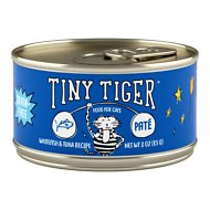 Tiny Tiger Pate Whitefish and Tuna Recipe Grain-Free Canned Cat Food, 3-oz, case of 24