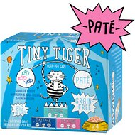Tiny Tiger Seafood Recipes Variety Pack Grain-Free Pate Canned Cat Food, 3-oz, case of 24