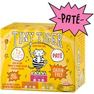 Tiny Tiger Beef & Poultry Recipes Variety Pack Grain-Free Pate Canned Cat Food, 3-oz, case of 24
