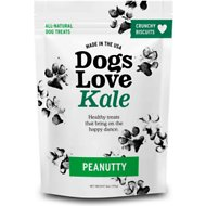 Dogs Love Us Dogs Love Kale Peanutty Wheat & Gluten Free Dog Treats, 6-oz bag