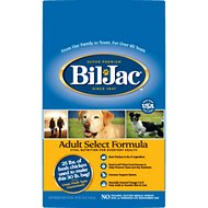 Bil-Jac Adult Select Chicken Recipe Dry Dog Food, 30-lb bag