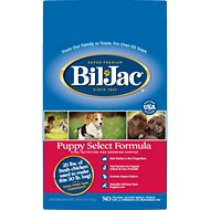Bil-Jac Puppy Select Chicken Recipe Dry Dog Food, 30-lb bag