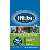 Bil-Jac Senior  Select Chicken & Oatmeal Recipe Dry Dog Food, 30-lb bag