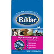 Bil-Jac Large Breed Puppy Chicken Recipe Dry Dog Food, 30-lb bag