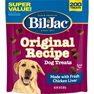 Bil-Jac Original Recipe with Liver Soft Dog Treats, 20-oz bag