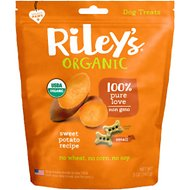 Riley's Organic Sweet Potato Recipe Biscuit Dog Treat, 5-oz bag, Small