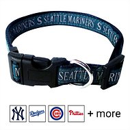 Pets First MLB Dog Collar, Seattle Mariners, Medium
