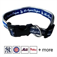Pets First MLB Dog Collar, Los Angeles Dodgers, Small