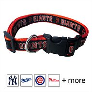 Pets First MLB Dog Collar, San Francisco Giants, Large