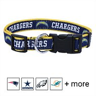 Pets First NFL Dog Collar, Los Angeles Chargers, Medium