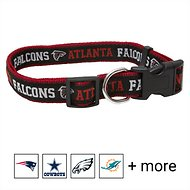 Pets First NFL Dog Collar, Atlanta Falcons, Large