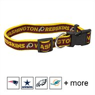 Pets First NFL Dog Collar, Washington Redskins, Large