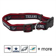 Pets First NFL Dog Collar, Houston Texans, Small