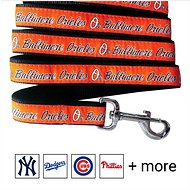 Pets First MLB Dog Leash, Baltimore Orioles, Medium