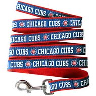 Pets First MLB Dog Leash, Chicago Cubs, Medium