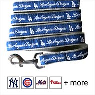 Pets First MLB Dog Leash, Los Angeles Dodgers, Small