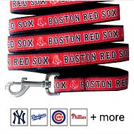 Pets First MLB Dog Leash, Boston Red Sox, Large